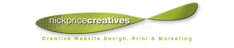 Nick Price Creatives Web Design