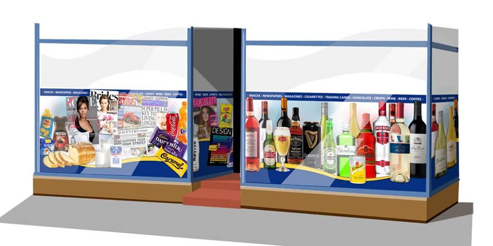 shop frontage visual